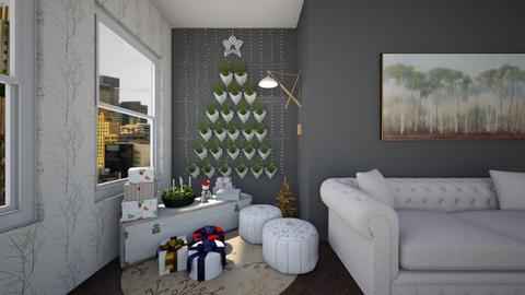 Christmas Wall - Living room  - by heyfeyt