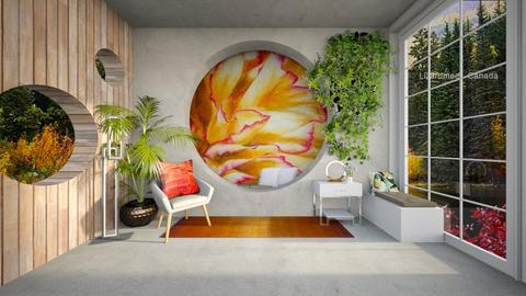O Keeffe inspired Living - Living room - by rungsimas