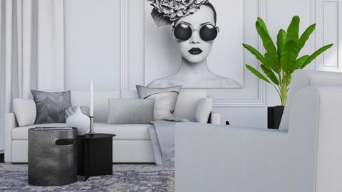 Mono - Modern - Living room  - by HenkRetro1960