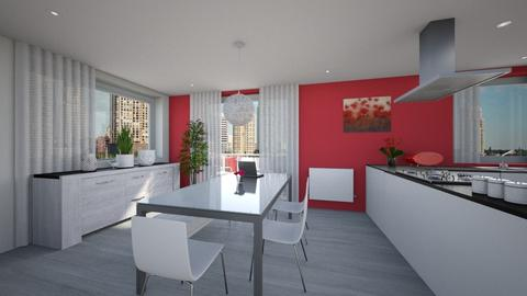 Dinning room appartment - Modern - Dining room  - by tornadolynn
