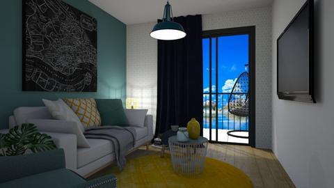 Cozy - Minimal - Living room  - by lauozvaldova