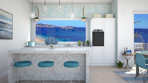 By the ocean - Classic - Kitchen  - by martinabb