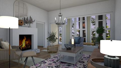 cottage - Country - Living room  - by steker2344