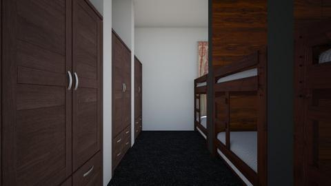Dorm Room For Six - Bedroom  - by SammyJPili