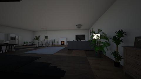 aleksandra - Living room  - by Aleksandra Kozak