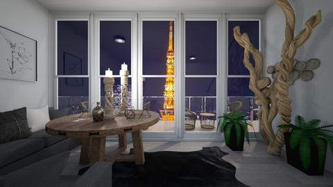 A good Tokyo view - Eclectic - Living room  - by deleted_1603315438_TokyoScare