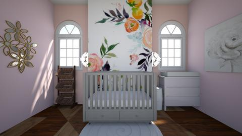nursry - Glamour - Kids room  - by katemarsh