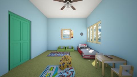 boy bedroom - Bedroom  - by Me12345678900