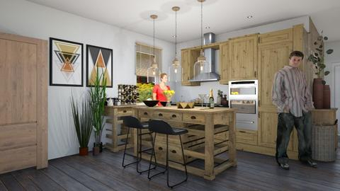 kitchen new - Kitchen - by ewcia3666