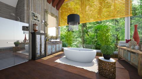 BANHEIRO - Bathroom  - by Roberta Coelho