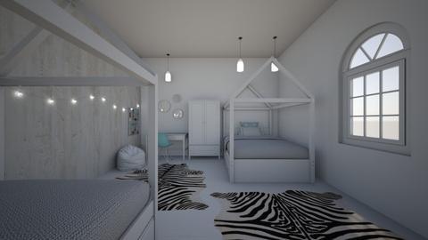 Dorm Room - Modern - Bedroom  - by evabarrett