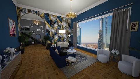 deco living - Living room  - by JazzyMarie3339