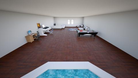 room - Modern - Bedroom  - by grendel