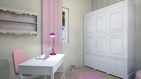 CAPITOLO 7 ESERCIZIO 2 b - Bedroom - by EveDesign