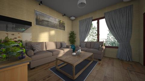 Simple Live 2 - Minimal - Living room - by GalangPratama