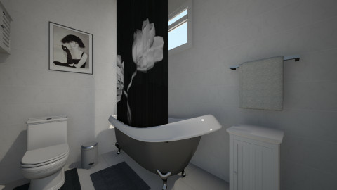p - Minimal - Bathroom  - by nataliaMSG