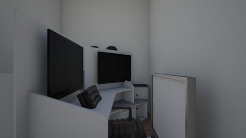mi cuarto - Office  - by 58o8