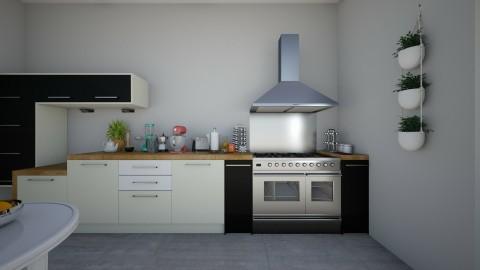 cozinha - Minimal - by Adrieel_schn