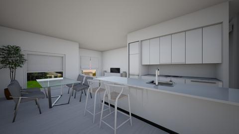 1st level_option1_v2 - Modern - Living room  - by danny_design