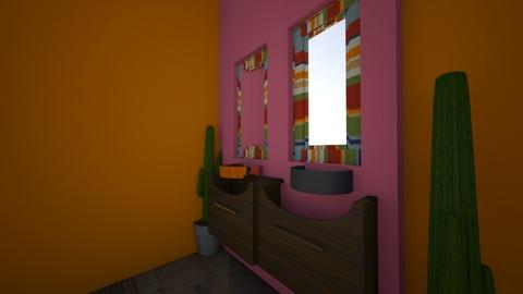 El bano de mi abuela - Bathroom  - by da crazy_girl
