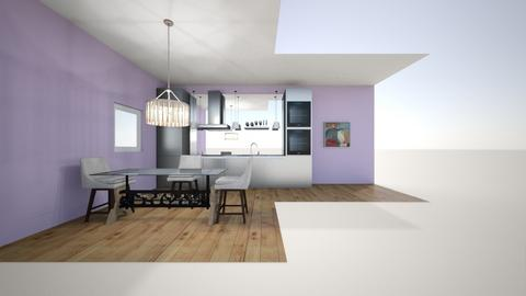 Atleys kitchen  - Kitchen  - by atleyyounger