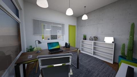 office room x2 - Kitchen - by APEXDESIGN