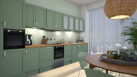 583 - Modern - Kitchen  - by Claudia Correia