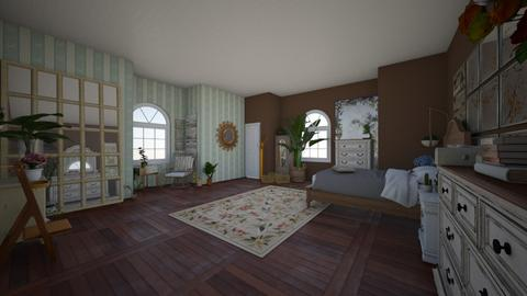 Boho feels - Bedroom  - by annndrea