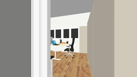 Conservatory office - Office  - by Crazedmotherof4