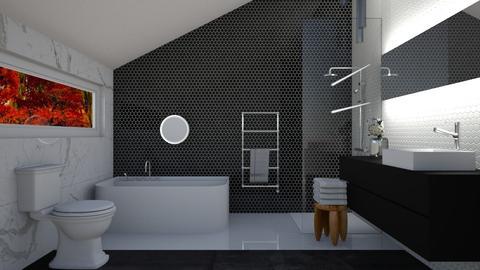 top floor bath - Bathroom - by kennedycoleman