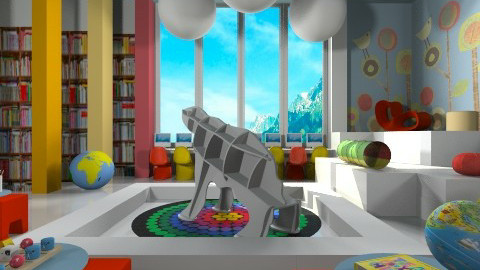 Kids Korner - Eclectic - Office  - by channing4