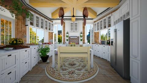 nifty kitchen - Kitchen  - by sarasepideh