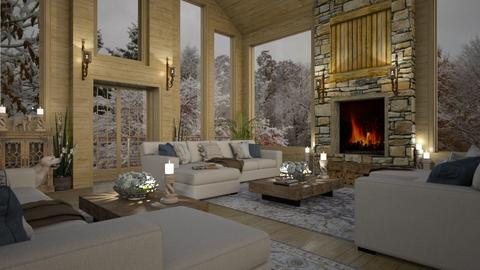 Design 474 After the Snow Storm - Living room  - by Daisy320