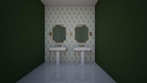Green  - Bathroom  - by copperkettle