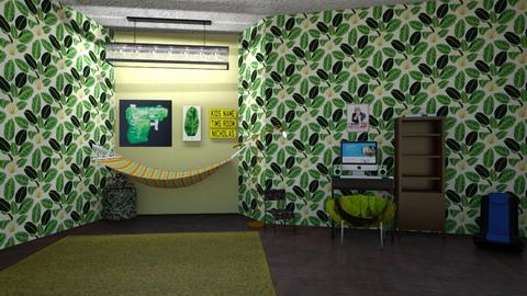 camogamin  - Kids room  - by goldenfang11