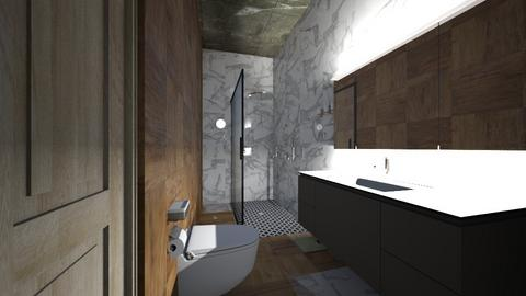 60 M2 - Modern - Bathroom - by Felipe1402