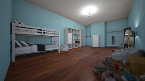 twin room - Eclectic - Bedroom - by aschaper