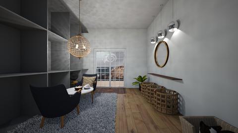 nautical living room - Living room  - by tessmcquillan