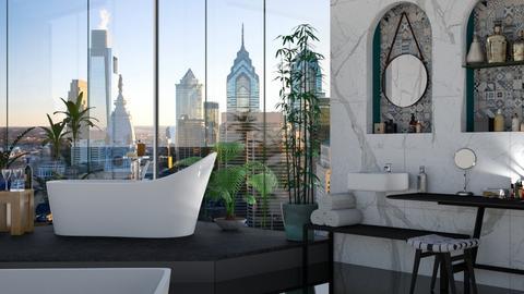 free standing tub - Modern - Bathroom  - by mmehling