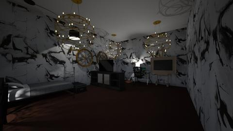 Alt or Emo Bedroom  - Bedroom  - by 27keleas