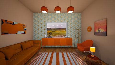 orange room  - Living room  - by vlj51D4C