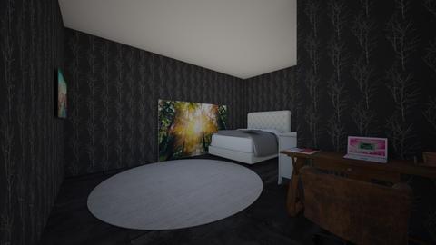 Birch Room - Country - Bedroom  - by Charginghawks