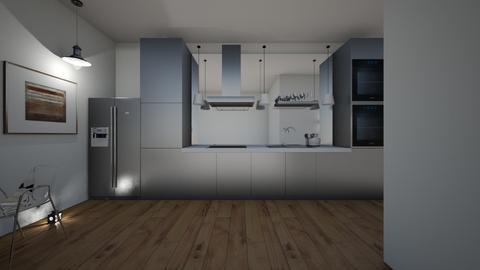 modern farmhouse - Kitchen  - by hillygabe