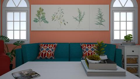 Colorful living room - Living room - by Ronnie the squid