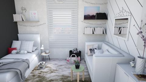 Daisy s Bedroom - Eclectic - Bedroom  - by fashionistafalida
