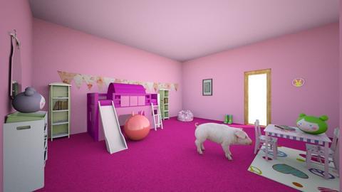 Kids Room - Bedroom  - by Karen Sheets