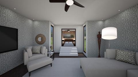 Loft bedroom - Bedroom - by nicquo40
