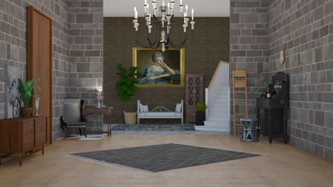 shabby chic - Living room - by Okakambe_gal