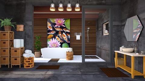 Lily Pond Bath - Bathroom  - by lyrikkah