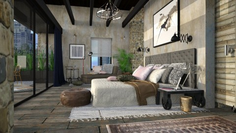 Bedroom Suite I - Eclectic - Bedroom  - by evahassing